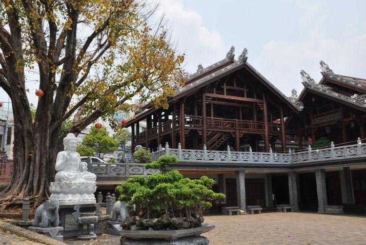 tượng phật thích ca chùa khải đoan